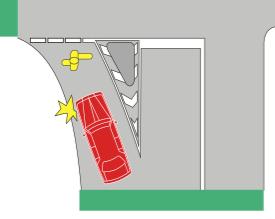 1-pedestrian-in-slip-lane
