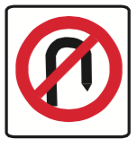 16-no-u-turn-sign