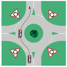 49-roundabout-straight-single-lane