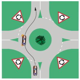 49-roundabout-straight-single-lane
