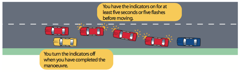 57-leaving-parked-position