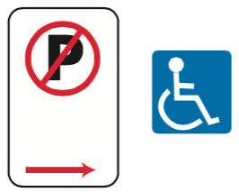 65-no-parking-disability-signs