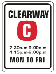 66-clearway-sign